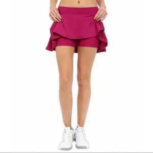 Nike Dri-Fit Pink Court Baseline Tennis Skort M
